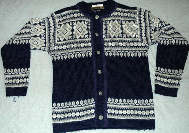 Norstrikk Norwegian Handknit Wool Sweater