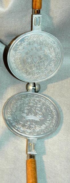 Scandinavian Krumkake Iron  Nordic Ware
