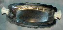 Art Deco Chrome Plated Ware Relish Dish Forman Bros.