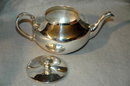 Silver Plated Mini Teapot 2 cup capacity