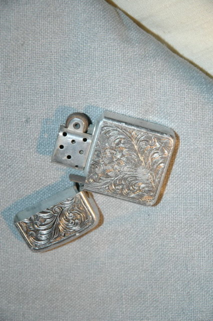 Engraved Aluminum Lighter by Park
