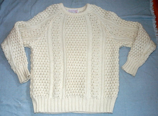 Irish Fisherman Sweater Slieve League sz 46