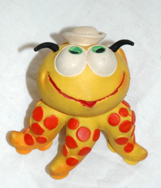 Squeak Toy  Rubber Sailor Octopus Lanco Spain