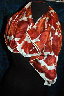 Jacqueline Ferrer 100% Silk Scarf New with Tag