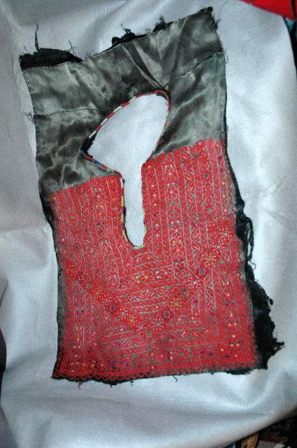 Antique FineNeedle Point  Men's Yoke Collar