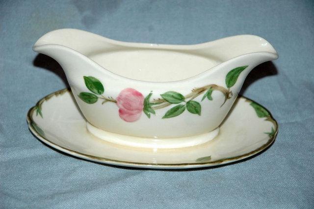 Desert Rose  Franciscan Ware Gravy Boat /Dish/ Bowl