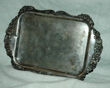 Pairpoint MFG. Co Quadruple Silver Plate Tray