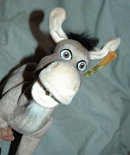 Plush Donkey From Shrek 2  NWT 12