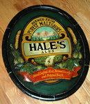 Hale's Ales Micro Brewery Beer Sign of Wood