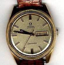 Omega Seamaster Automatic Swiss Watch 14K GF