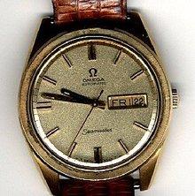 Omega Seamaster Automatic Swiss Watch 14K GF