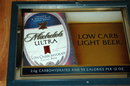 Michelob Ultra Light Low Carb Beer Bar Mirror