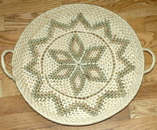Large  Woven Grass Basket Plater * PRICE REDUCED *