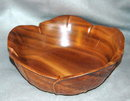 Sorensen Hawaii Monkey Pod Cabage Leaf  Bowl