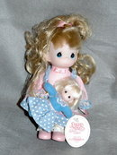 Pecious Moments Doll Toddler, You Are Always My