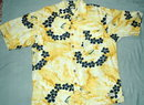 Tommy Bahama Hawaiian Print Shirt Rayon Barkcloth Sz XL