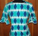 The Ugliest  Vintage Reto  Mod Hawaiian Made Dress I have ever seen!