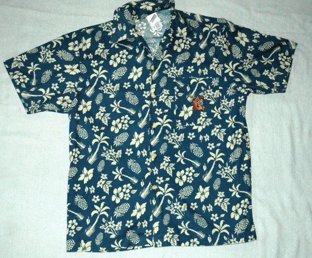 Warner Bros Scooby Do Hawaiian Shirt Men's size S