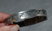 Handcrafted  Sterling Overlay Bracelet