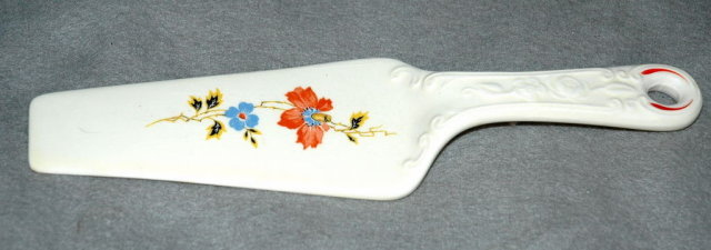 Vintage Porcelain Pie Server