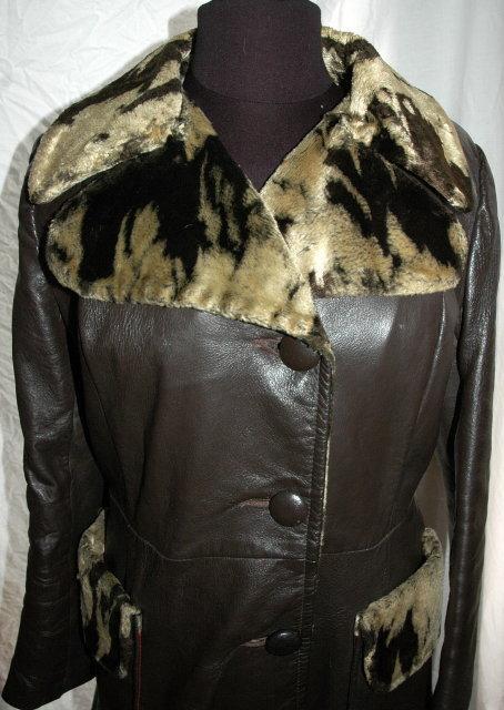 Dan Di Modes Leather Coat
