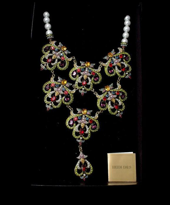 Heidi Daus Elegant Jewels & Pearls Necklace