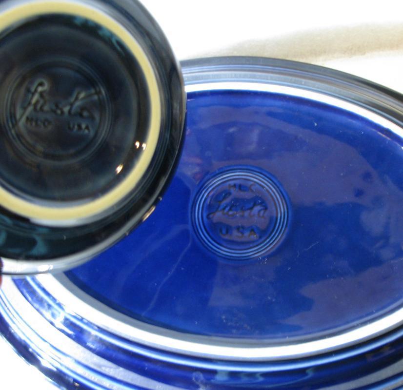 Fiesta Oval Platter Cobalt Blue 13