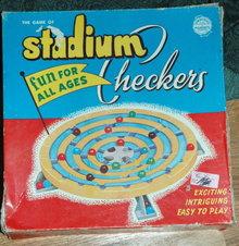 1952 Stadium Checkers Game