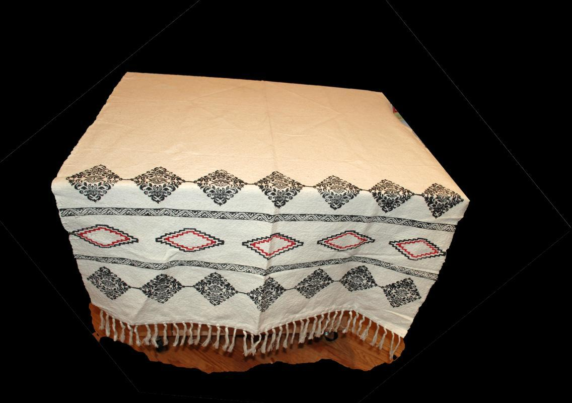 Table Cloth Runner Hand Made in Nepal 100% Cotton