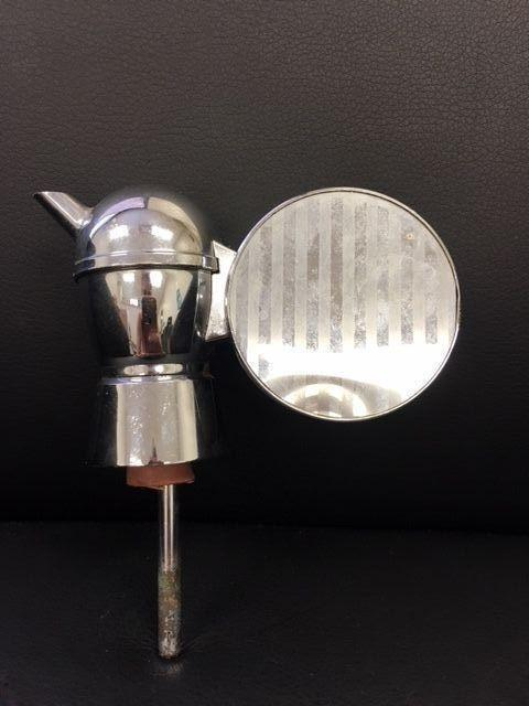 Chrome Wine or Spirits Musical Music Box Pouring Spout