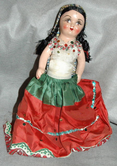 Vintage Ethnic Doll  ** PRICE REDUCED!**