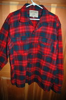 VintageThick  Wool Plaid Shirt