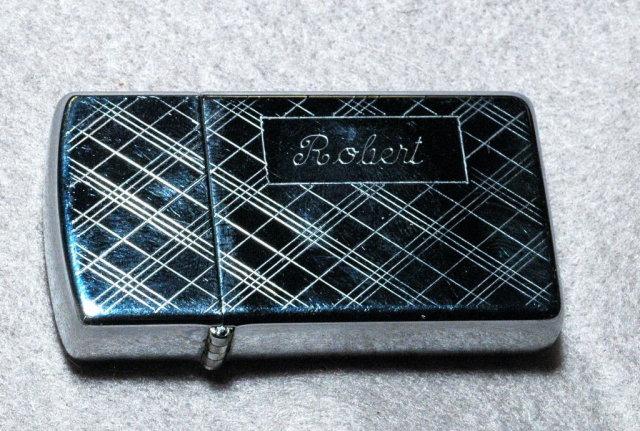 Zippo Lighter with Monogram