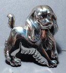 Sterling Silver Cockier Spaniel Pin, Brooch