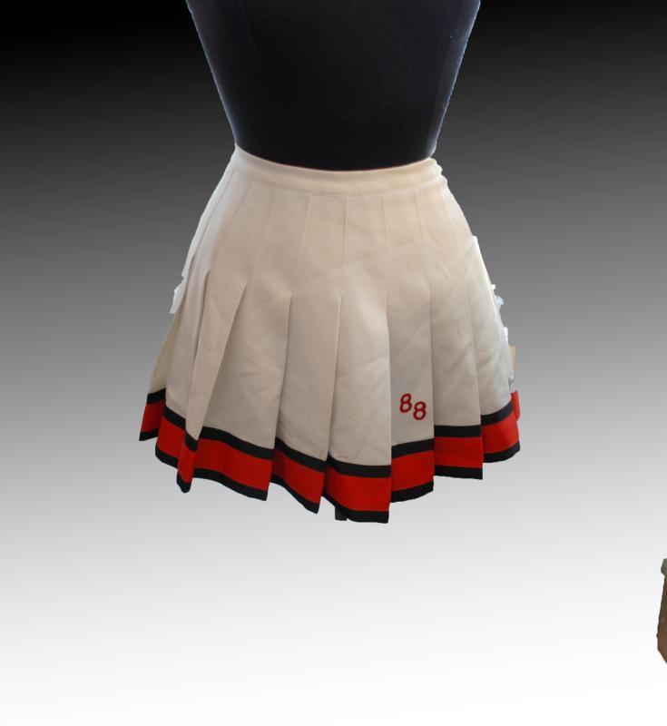Vintage Cheerleader Skirt '88 Quality Knitting Co. Tacoma WA