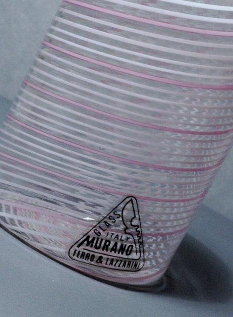 Italian Murano Glass Bottle Ferro & Lazzerini   **PRICE REDUCTION! ***