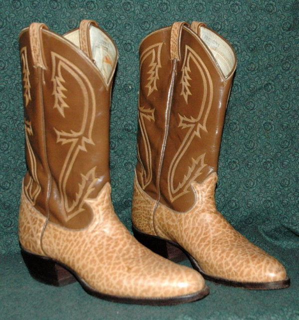 Fancy Tony Lama Leather Cowboy Boots 10.5B   **PRICE REDUCTION! ***