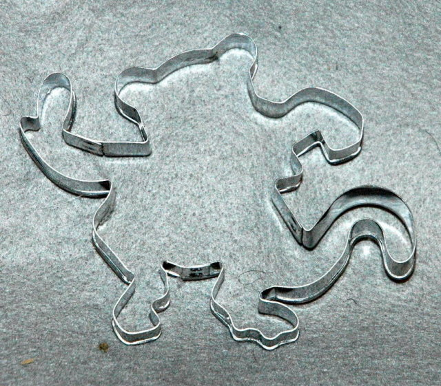 Dancing Monkey Cookie Cutter