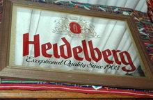 Rainier Brewing co. Heidelberg Beer Mirror