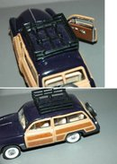 1949 FORD WOODY PANEL WAGON 1:38 SCALE  DIE -CAST  MODEL