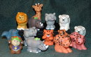 Fisher Price Little People 14 pc Lot  Animals