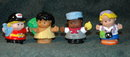 Fisher Price Little People  4 pc Lot Misc People