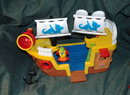 Fisher Price Little People  Pirate Ship with Parrot
