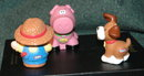 Little Tikes Farn Lot Pig,  Farmer,  Dog