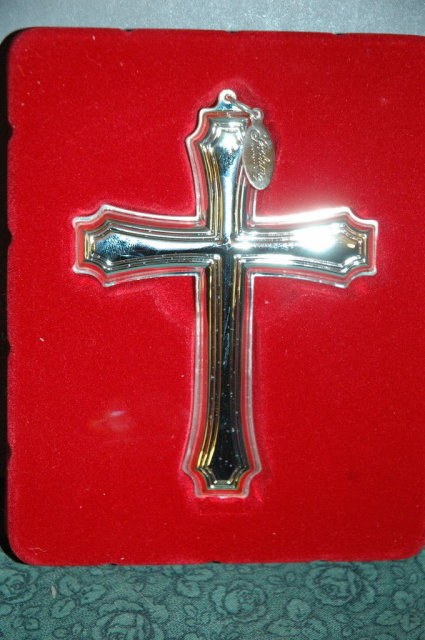 Goham Silver Fairfax Cross New old stock in box