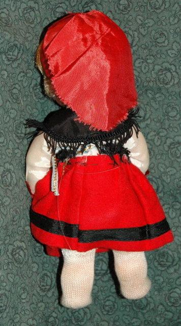 Vintage Swedish Doll  8 1/2