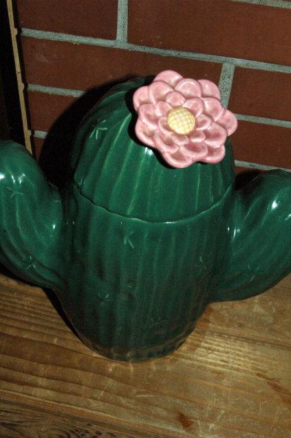 Saguaro Cactus Cookie Jar Treasure Craft