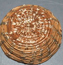 Hand Crafted  Native American Pine Needle Basket