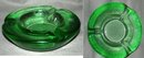 IVV Italian Heavy  Thick Green Glass Ashtray  ** PRICE REDUCED! **