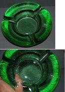 IVV Italian Heavy  Thick Green Glass Ashtray  ** PRICE REDUCED! **